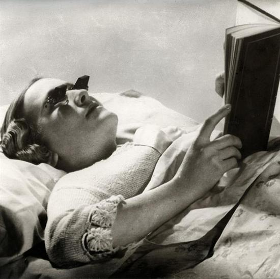 Hamblin glasses for reading in bed