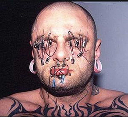 Most Extreme Piercings 12 Most Extreme Piercings Pictures Seen on www.VyperLook.com