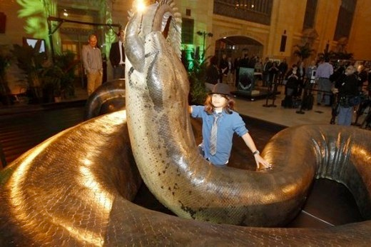 Biggest Snake In The World 55 Feet Long as seen on CoolWeirdo.com