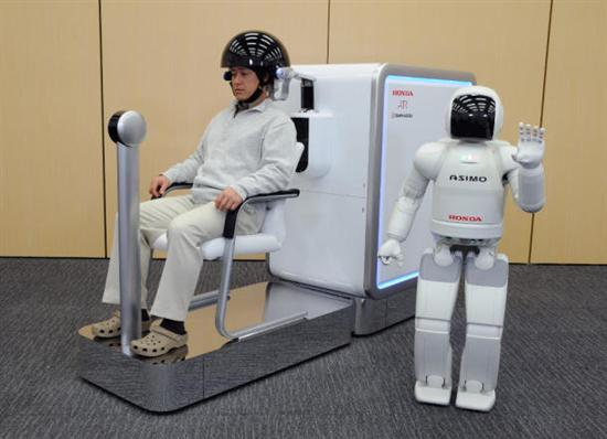 asimo honda Mind Controled Robot Amazing Real World Avatar  Pictures Seen on www.VyperLook.com
