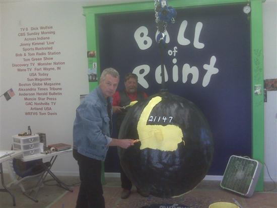 Largest Ball of Paint 2 Strangest Hobbies Pictures Seen on www.VyperLook.com