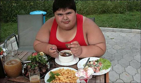 Dzhambik Khatokhov 1 Fattest Kids In the World as seen on CoolWeirdo.com