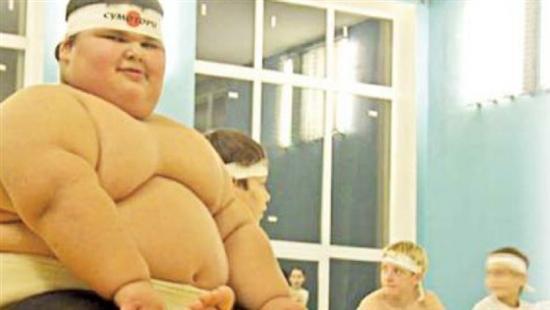Dzhambik Khatokhov 3 Fattest Kids In the World as seen on CoolWeirdo.com