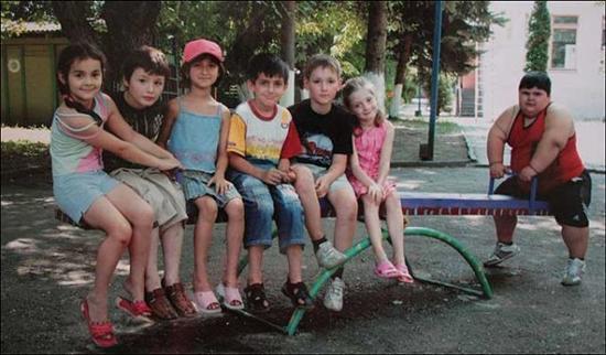 Dzhambik Khatokhov 4 Fattest Kids In the World as seen on CoolWeirdo.com