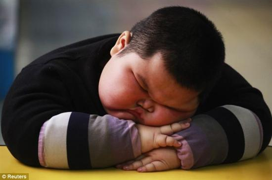 Lu Hao fat kid 3 Fattest Kids In the World as seen on CoolWeirdo.com