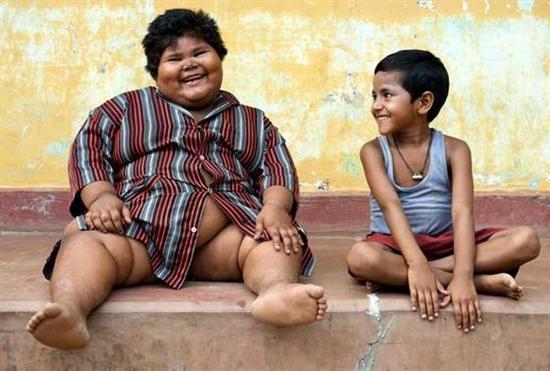 Suman Khatun 1 Fattest Kids In the World as seen on CoolWeirdo.com