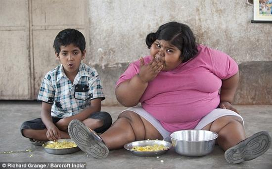 Suman Khatun 3 Fattest Kids In the World as seen on CoolWeirdo.com