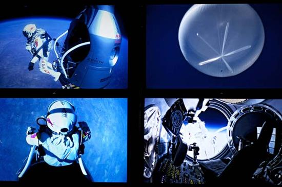 Felix Baumgartner Breaks Sound Barrier3