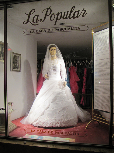 Pascualita De Chihuahua 7 La Pascualita   Dead Bride and Other Weird Mannequins as seen on CoolWeirdo.com