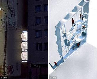 World S Thinnest House Poland Amazing Extreme Odd