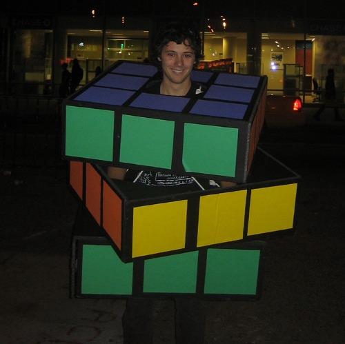 rubiks cube halloween costume