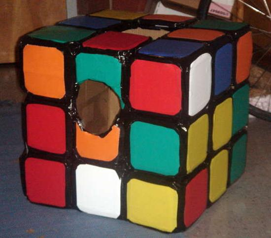 rubiks cube halloween costume1