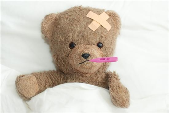 sick teddy bear1