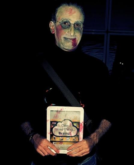 zombie steve jobs halloween costume