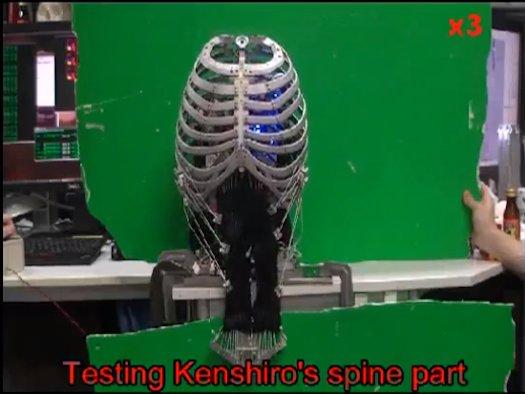 Kenshiro humanoid robot 4
