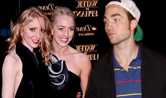 Robert Pattinson and sisters