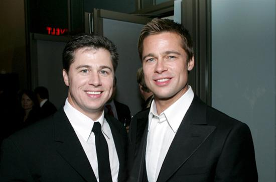 brad pitt brother Celebs And Their Siblings Pictures Seen on www.VyperLook.com