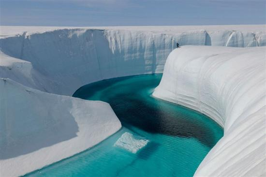 Blue River Greenland 1