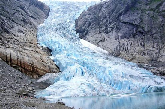 Briksdal Glacier, Norway 1