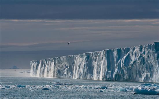 Glacier Waterfalls in Svalbard, Norway 2