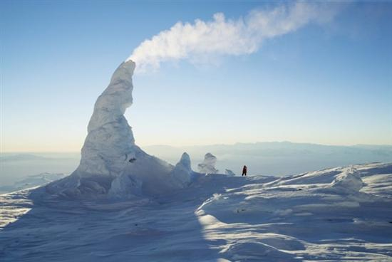 Ice Towers of Mount Erebus Antarctica 1