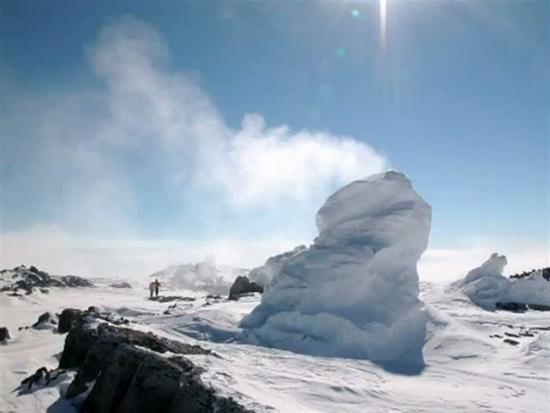 Ice Towers of Mount Erebus Antarctica 2