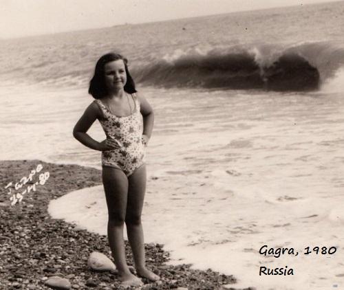 Valeria Levitina before anorexia