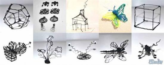 3D Printer Pen Artwork