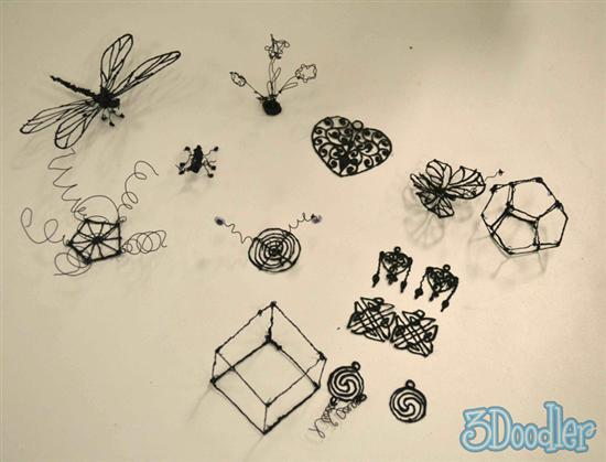 3d doodles 3D Printing Pen   3Doodler as seen on CoolWeirdo.com