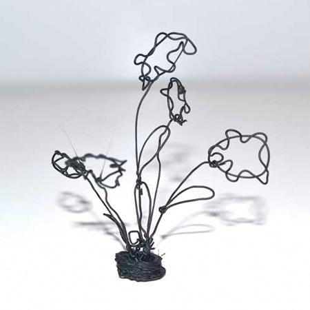 flowers 3d doodle print
