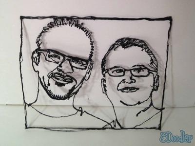 human faces 3d printing