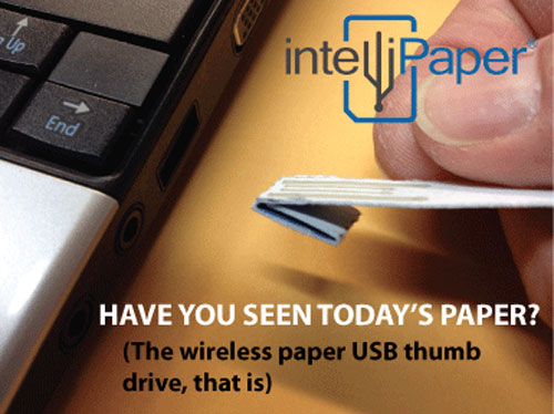 intellipaper 2 Intellipaper   Wireless Paper based USB Pictures Seen on www.VyperLook.com