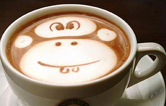 monkey foam art