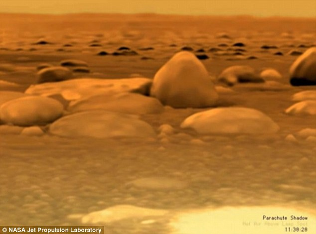 alien world on Titan