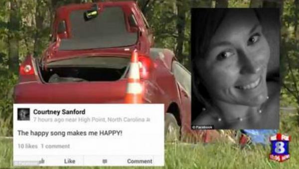 Courtney Sanford died after posting on facebook