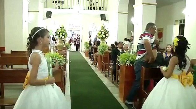 brazilian man shoots wedding guests