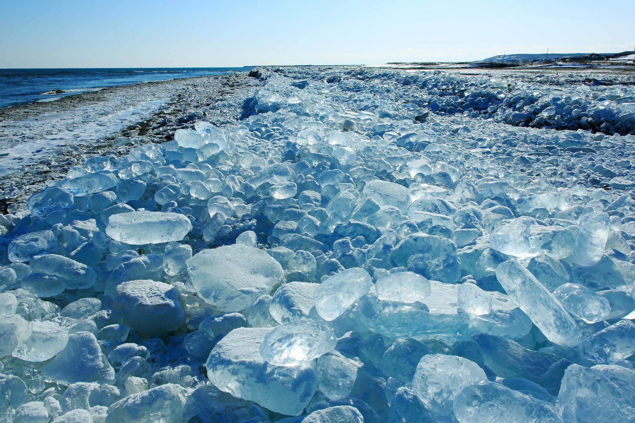 ice jewelery sparkles like diamonds