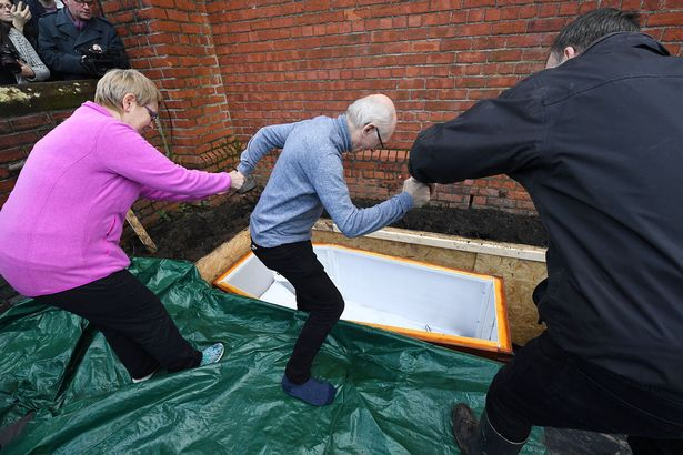man buried alive for three days in belfast