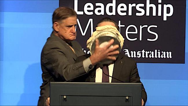 Qantas CEO got a pie on his face