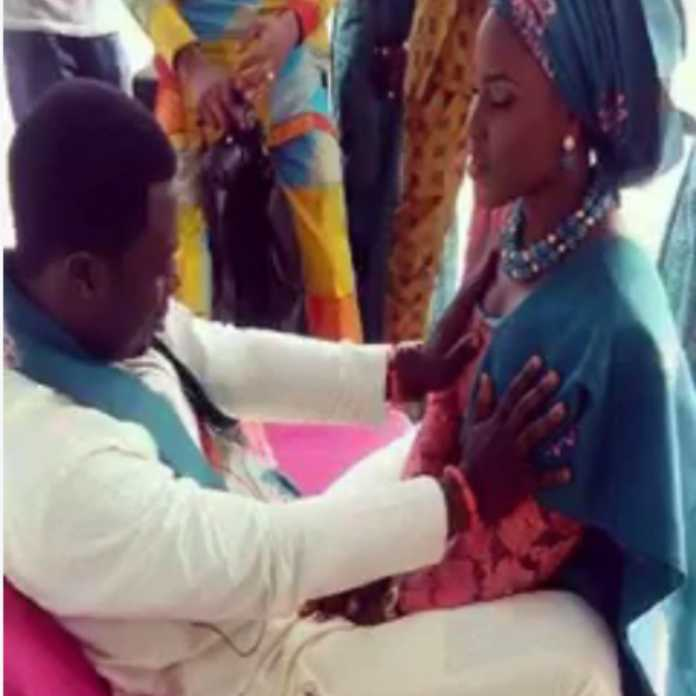 pastor perform miracles while touching women brests