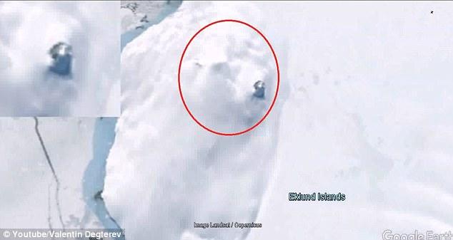 ufo found in antartica