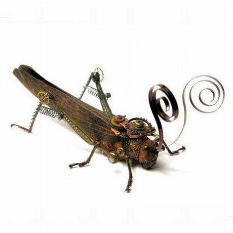 105693mechanical grasshopper
