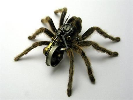 105693mechanical spider