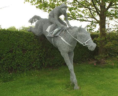 182387wire sculpture