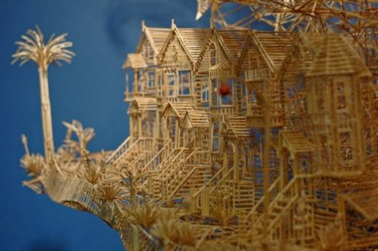 255569Amazing Toothpicks Sculpture Rolling Through The Bay 2