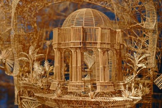 255569Amazing Toothpicks Sculpture Rolling Through The Bay 3
