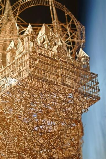 255569Amazing Toothpicks Sculpture Rolling Through The Bay 4