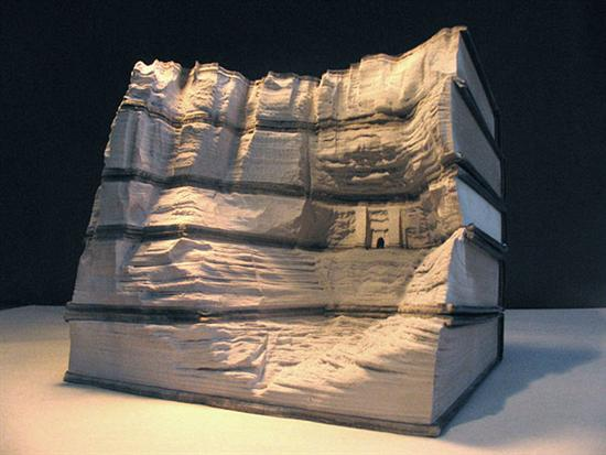 733499book carvings guy laramee 10 Amazing Landscapes Made From Books By Guy Laramee Pictures Seen on www.VyperLook.com