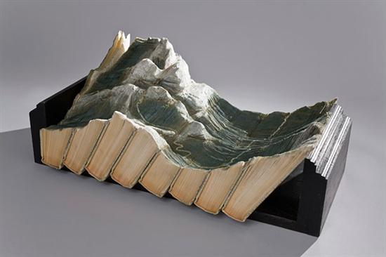 733499book carvings guy laramee 11 Amazing Landscapes Made From Books By Guy Laramee Pictures Seen on www.VyperLook.com