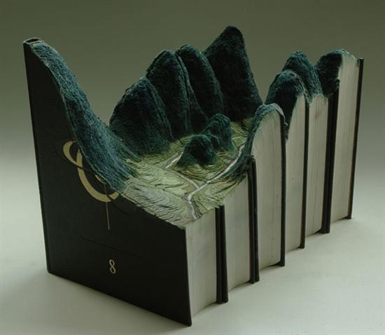 733499book carvings guy laramee 3 Amazing Landscapes Made From Books By Guy Laramee Pictures Seen on www.VyperLook.com